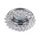Точечный светильник Trio Dolomite 651700152 хром/кристаллы