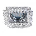 Точечный светильник Trio Dolomite 651800152 хром/кристаллы