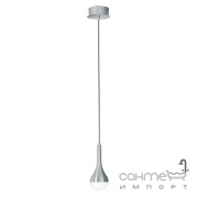 Подвесной LED-светильник Trio Drops 327910105 алюминий браш/белый