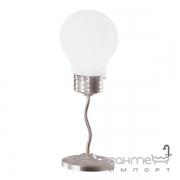 Настольная лампа Trio Edison 5601011-07 матовый никель/белое стекло