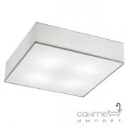 Потолочный светильник Trio Embassy 603800401 матовый никель/белая ткань
