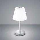 Сенсорный LED-ночник Trio Emerald 525490106 хром/белое стекло