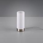 Сенсорный LED-ночник Trio Reality Emir R52460101 матовый никель/белая ткань