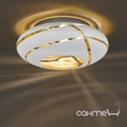 Потолочный светильник Trio Faro 606100331 белое стекло