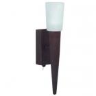 Настенный светильник Trio Facella 216070124 металл рустик/матовое стекло