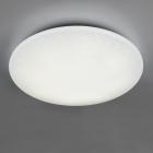 Потолочный LED-светильник с дистанционным управлением Trio Reality Fara R65006000 белый