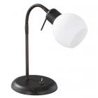 Настольная LED-лампа Trio Freddy 524810128 металл антик руст/белое стекло