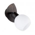 Настенный LED-светильник Trio Freddy 824810128 металл антик руст/белое стекло