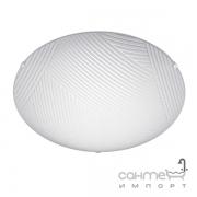 Потолочный LED-светильник Trio Gemma 673511201 белое матовое стекло, декор линии