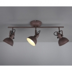 Спот на 3 лампы Trio Reality Gina R80153024 металл рустик