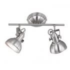 Спот на 2 лампы Trio Reality Gina R80152007 матовый никель