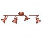 Спот на 4 лампы Trio Reality Gina R80154029 медь