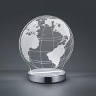 Настольная LED-лампа Trio Reality Globe R52481106 хром