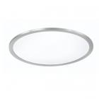 Потолочный LED-светильник с дистанционным управлением Trio Griffin 657494007 матовый никель/белый