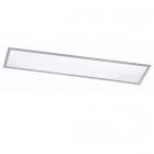 Потолочный LED-светильник с дистанционным управлением Trio Griffin 657411107 матовый никель/белый