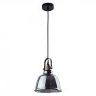 Светильник подвесной Nowodvorski Amalfi 9152 черный/тонированное стекло