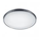 Потолочный LED-светильник с датчиком движения Trio Reality Izar R67821101 алюминий браш/белый