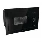 Встраиваемая микроволновая печь с грилем Gorenje BM 235 SYB черное стекло