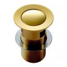 Донный клапан с переливом Imprese PP280zlato золото