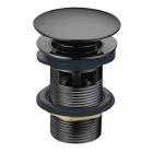 Донный клапан с переливом Imprese Grafiky ZMK041807500 черный