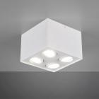 Накладной точечный светильник на 4 лампы Trio Biscuit 613000431 матовый белый