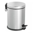 Ведро для мусора с педалью Efor Metal 404 8л хром