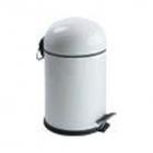 Ведро для мусора с педалью Efor Metal Bon 5003B 5л белый