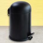 Ведро для мусора с педалью Efor Metal Bon 5003S 5л черный