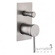 Смеситель для ванны скрытого монтажа Imprese Brenta ZMK081906041 никель