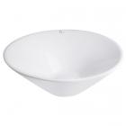 Раковина на столешницу Q-tap Amazon WHI 4037/F008 белая