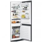 Встраиваемый двухкамерный холодильник с нижней морозильной камерой Whirlpool ART 6711 A SF