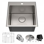 Кухонная мойка Kraus Standart PRO KHT301-18 457х457 нержавеющая сталь