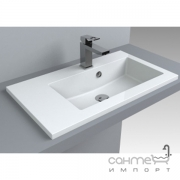 Раковина мебельная Fancy Marble Josefine Slim 700 R 5507301 белая, правосторонняя