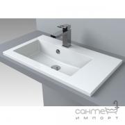 Раковина мебельная Fancy Marble Josefine Slim 700 L 5507201 белая, левосторонняя