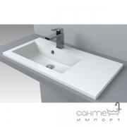 Раковина мебельная Fancy Marble Josefine Slim 800 L 5508201 белая, левосторонняя