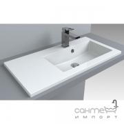 Раковина мебельная Fancy Marble Josefine Slim 800 R 5508301 белая, правосторонняя