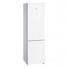 Отдельностоящий двухкамерный холодильник с нижней морозильной камерой Siemens KG39NVW316 белый