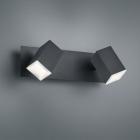 Спот на 2 LED-лампы Trio Lagos 827890232 матовый черный