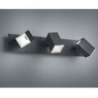 Спот на 3 LED-лампы Trio Lagos 827890332 матовый черный
