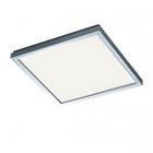 Потолочный LED-светильник Trio Lucas 659512405 алюминий браш/белый