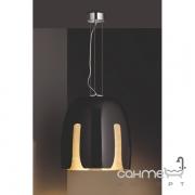 Люстра Trio Madeira 310290102 черное стекло/золото