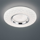 Потолочный LED-светильник с дистанционным управлением Trio Reality Magnolia R62720101 белый