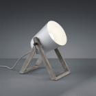 Настольная лампа Trio Reality Marc R50721011 серая