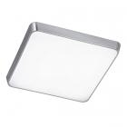 Потолочный LED-светильник Trio Marcos 625912305 алюминий браш/белый