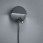 Настенный LED-светильник Trio Mario 222370232 матовый черный