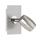 Настенный светильник Trio Michael 803000107 матовый никель