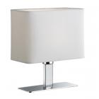 Настольная лампа Trio Reality Ming R50111001 хром/белая ткань