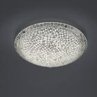 Потолочный LED-светильник Trio Mosaique 673012489 стекло мозаика серебро