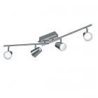 Спот на 4 LED-лампы Trio Narcos 873110407 матовый никель