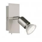 Настенный LED-светильник Trio Reality Nimes R82941107 матовый никель